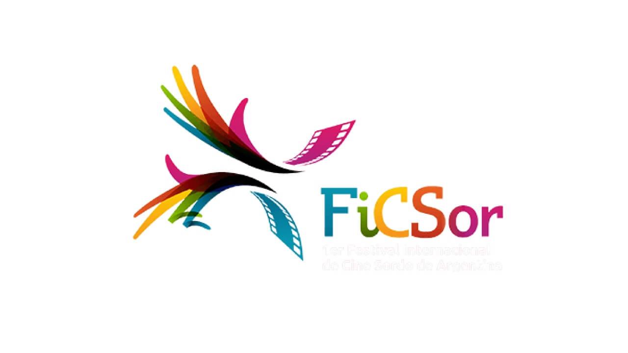 FiCSOR Argentina deaf cinema logo