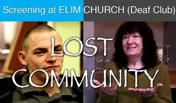 Lost Community e-flyer